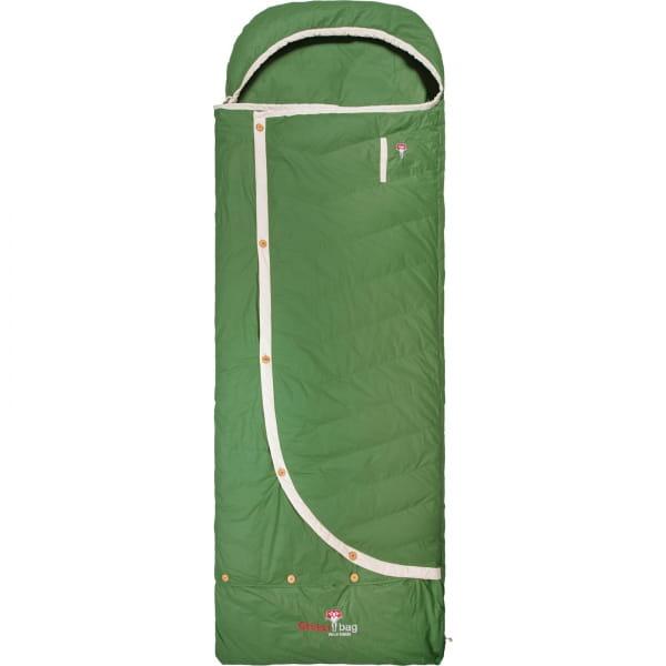 Grüezi Bag Biopod DownWool Nature Comfort  - Daunen- & Wollschlafsack basil green - Bild 1