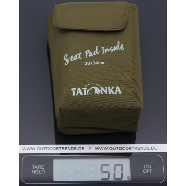 Tatonka Foldable Seat Mat - Falt-Sitzkissen olive - Bild 4