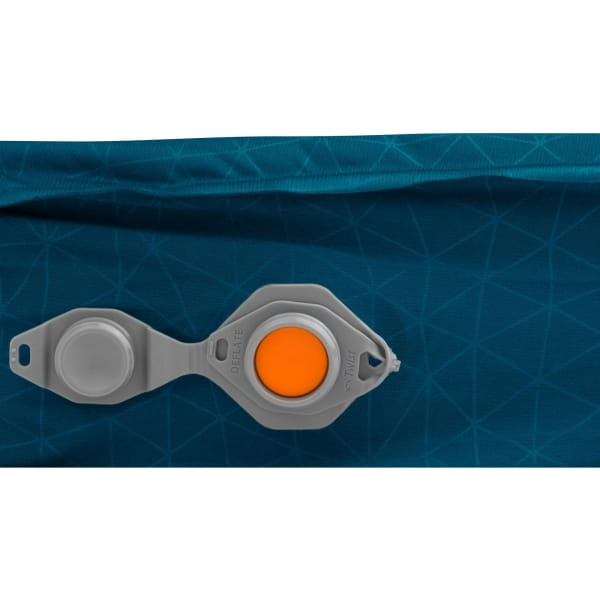 Sea to Summit Comfort Deluxe S.I. Double - Isomatte byron blue - Bild 10