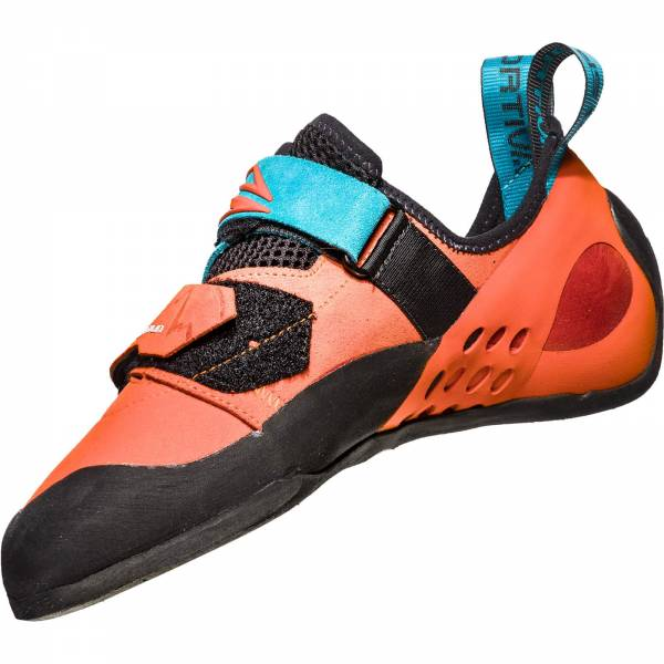 La Sportiva Katana - Kletterschuhe tangerine-tropic blue - Bild 3