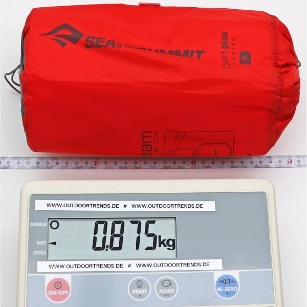 Sea to Summit Comfort Plus Insulated Mat - Thermo-Matte red - Bild 3
