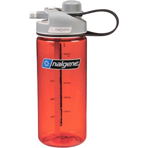 Nalgene MultiDrink - 0,6 Liter - Trinkflasche rot - Bild 1