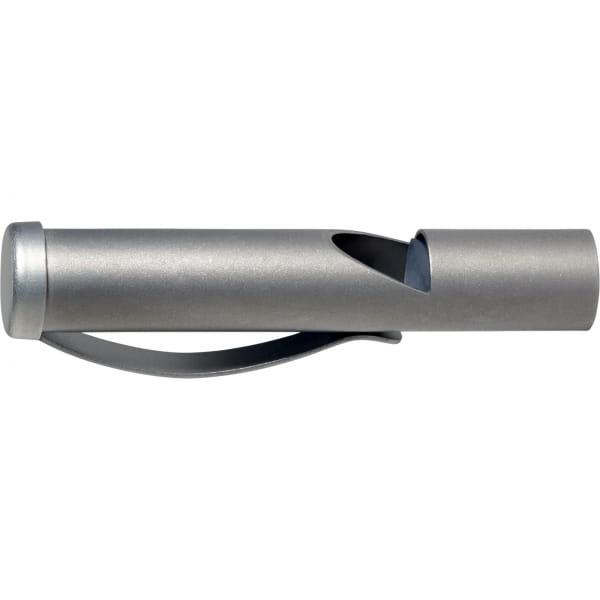VARGO Titanium Emergency Clip Whistle - Notfallpfeife - Bild 1