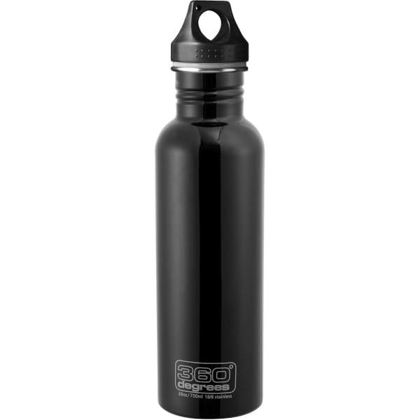 360° degrees Stainless Drink Bottle - 750 ml - Trinkflasche black - Bild 3