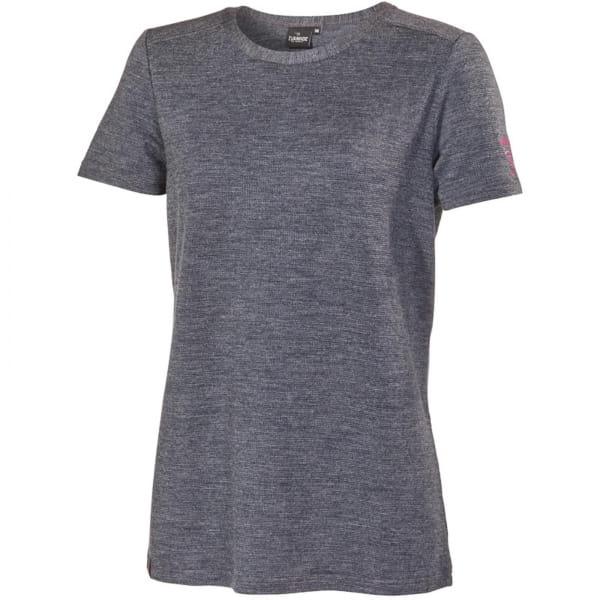 IVANHOE UW Siri Short Sleeve Woman - Funktions T-Shirt graphite marl - Bild 2
