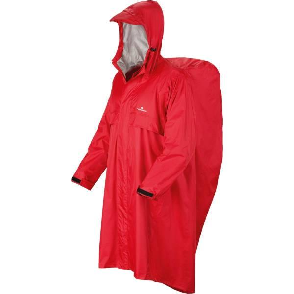 Ferrino Trekker - Rucksack-Regen-Poncho red - Bild 2