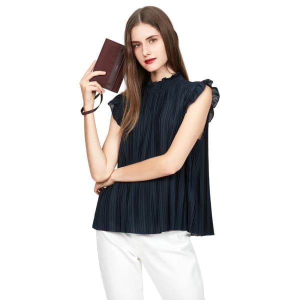 pacsafe RFIDsafe Women's Clutch Wallet - Geldbörse merlot - Bild 12