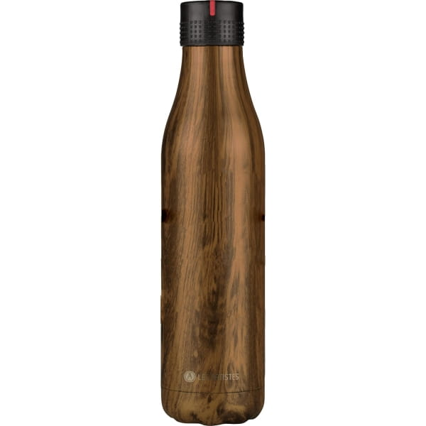 Les Artistes Bottle Up 750 ml - Thermo-Trinkflasche wood - Bild 3