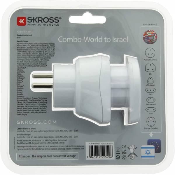 SKROSS Combo World to Israel - Steckeradapter - Bild 7