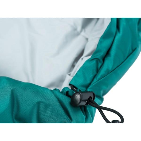 Grüezi Bag Biopod Wolle Goas Comfort - Deckenschlafsack dark petrol - Bild 3