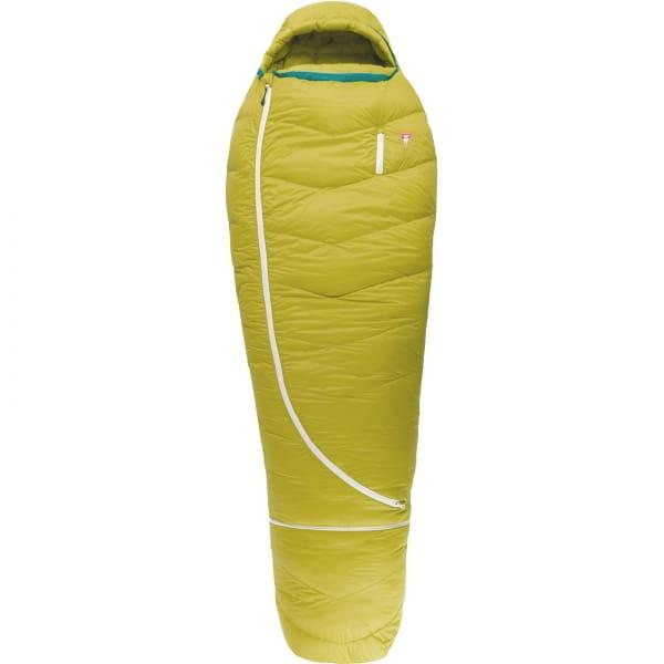 Grüezi Bag Biopod DownWool KidsTeen - Daunen- & Wollschlafsack citron - Bild 1