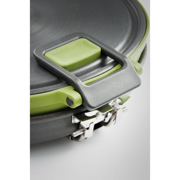 GSI Escape Set - faltbarer Kochtopf und Pfanne green - Bild 13