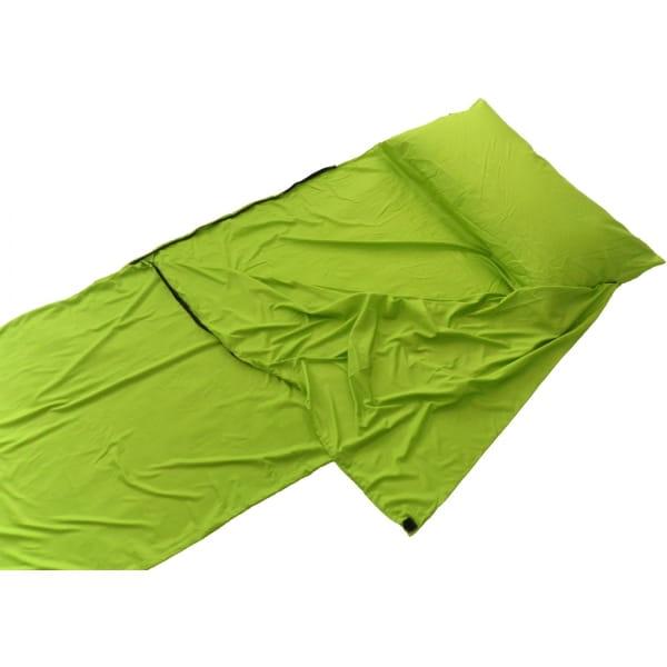 Origin Outdoors Sleeping Liner Mikrofaser grün - Bild 4