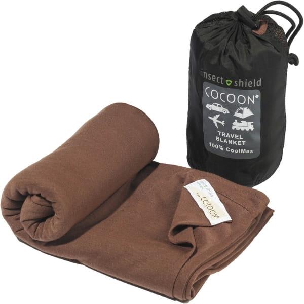 COCOON CoolMax Insect Shield Travel Blanket kalahari brown - Bild 1