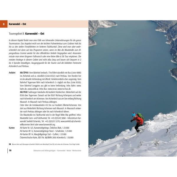 Panico Verlag Karwendel-Rofan-Wetterstein - Skitour Führer - Bild 6