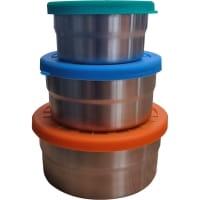 ECOlunchbox Seal Cup Trio - Edelstahl-Silikon-Dosen-Set