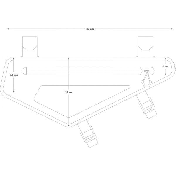 Apidura Backcountry Frame Pack 2 L - Rahmentasche - Bild 3