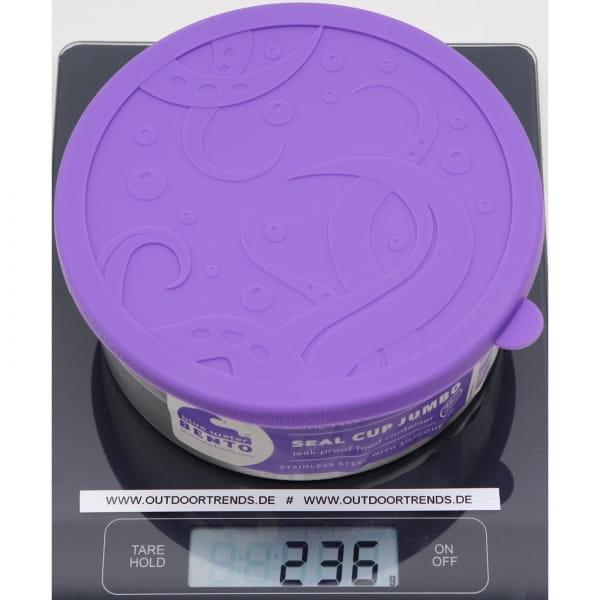 ECOlunchbox Seal Cup Jumbo - Edelstahl-Silikon-Dose - Bild 2