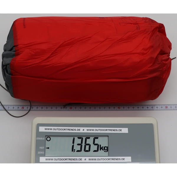 Sea to Summit Comfort Plus XT Insulated Mat Rectangular - Schlafmatte red - Bild 4
