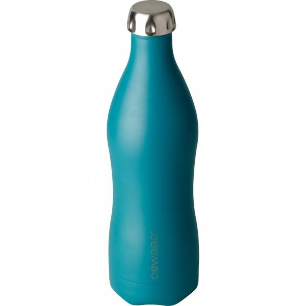 DOWaBO Earth 0,75 Liter - Double Wall Thermo-Trinkflasche petrol - Bild 5