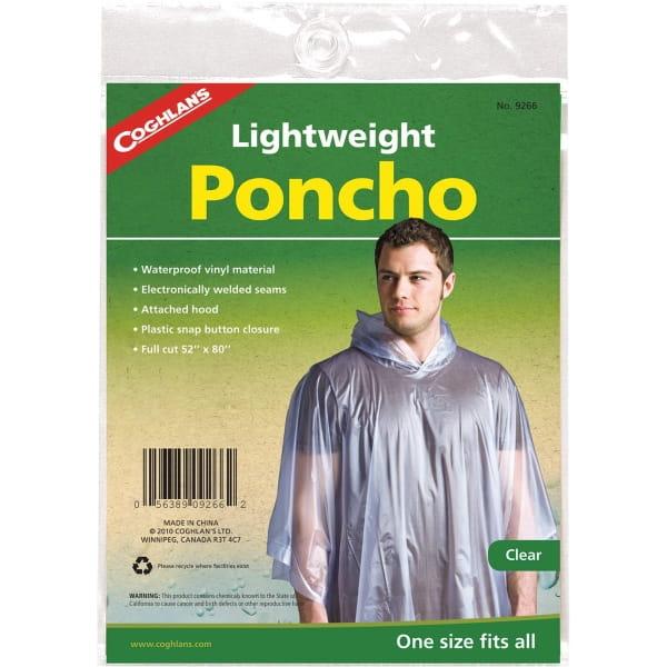 Coghlans Leichtponcho - Regenponcho transparent - Bild 1
