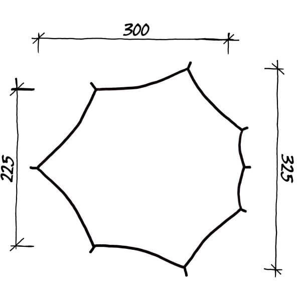 Wechsel Tents Wing - Travel Line Tarp - Bild 2