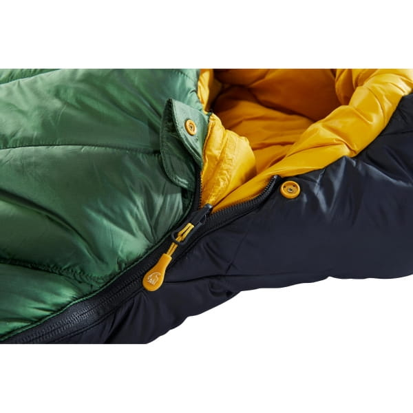 Nordisk Gormsson -20° Mummy - Winterschlafsack artichoke green-mustard yellow-black - Bild 8