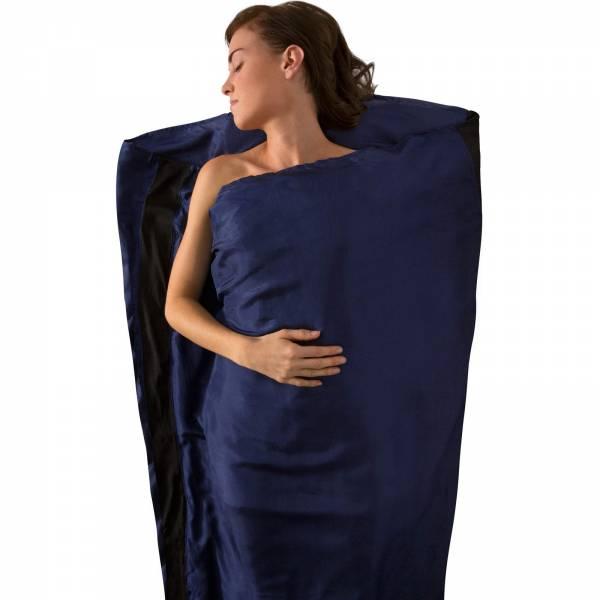 Sea to Summit Silk Stretch Liner Mummy Tapered - Inlet navy blue - Bild 2