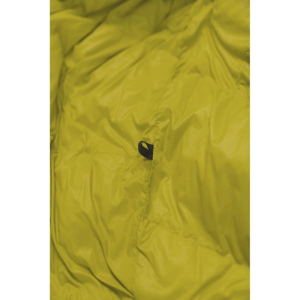 Grüezi Bag Biopod DownWool KidsTeen - Daunen- & Wollschlafsack citron - Bild 7