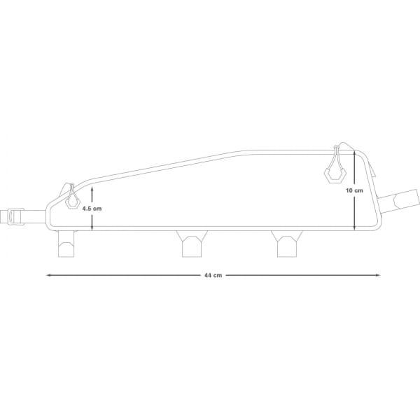 Apidura Racing Top Tube Long Pack 2 L - Oberrohrtasche - Bild 3