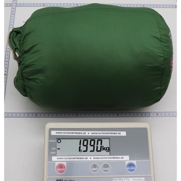 Grüezi Bag Biopod DownWool Nature Comfort  - Daunen- & Wollschlafsack basil green - Bild 4
