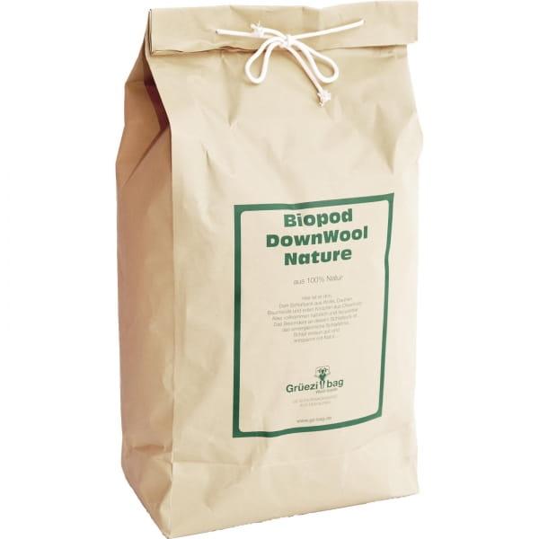 Grüezi Bag Biopod DownWool Nature Comfort  - Daunen- & Wollschlafsack basil green - Bild 14