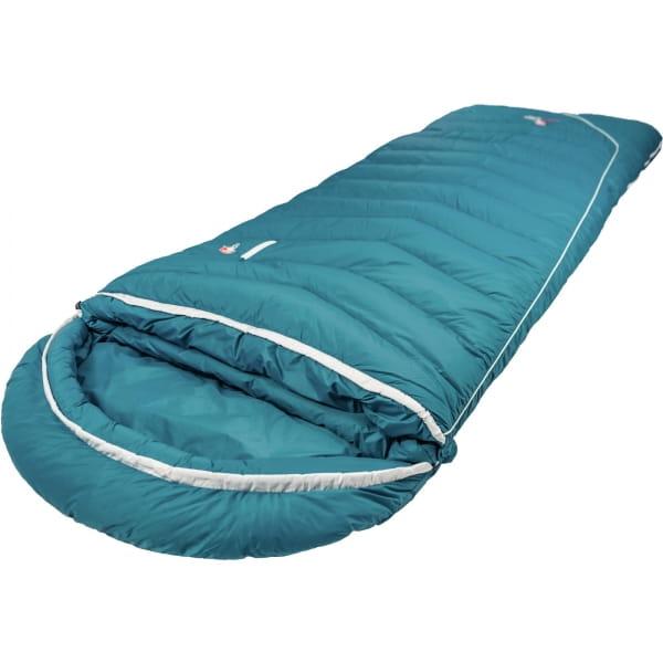 Grüezi Bag Biopod DownWool Subzero Comfort - Daunen- & Wollschlafsack autumn blue - Bild 2