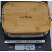Vorschau: Tatonka Lunch Box I Bamboo 1000 ml - Edelstahl-Proviantdose stainless - Bild 2