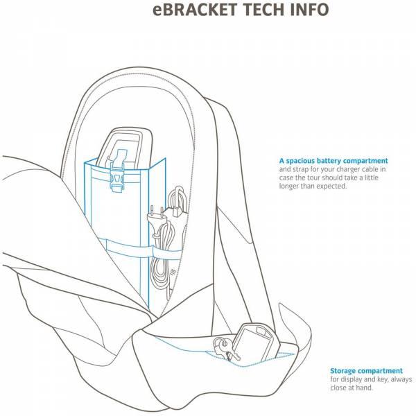 VAUDE eBracket 28 - E-Bike Rucksack - Bild 4