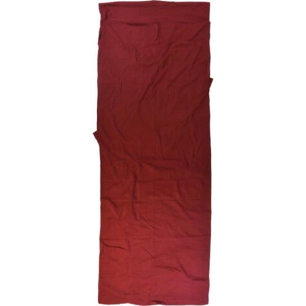 Origin Outdoors Sleeping Liner Baumwolle - Deckenform bordeaux - Bild 11