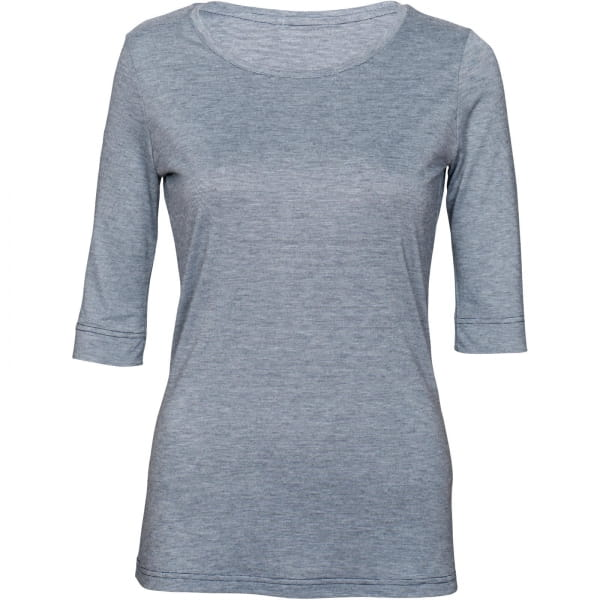 PALGERO Damen SeaCell-BioActive Liv 3/4-Arm-Shirt blau meliert - Bild 1