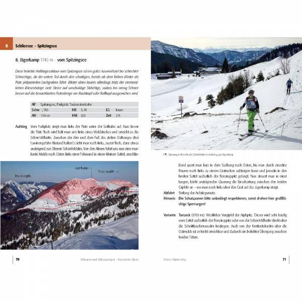 Panico Verlag Bayerischen Alpen - Skitourenführer - Bild 5
