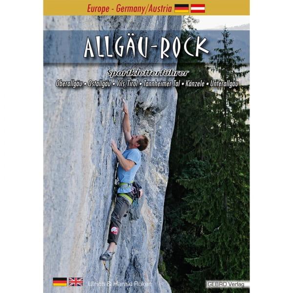 Gebro Verlag Allgäu Rock - Kletterführer - Bild 1