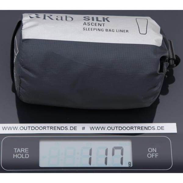 Rab Silk Ascent Sleeping Bag Liner - Innenschlafsack slate - Bild 3