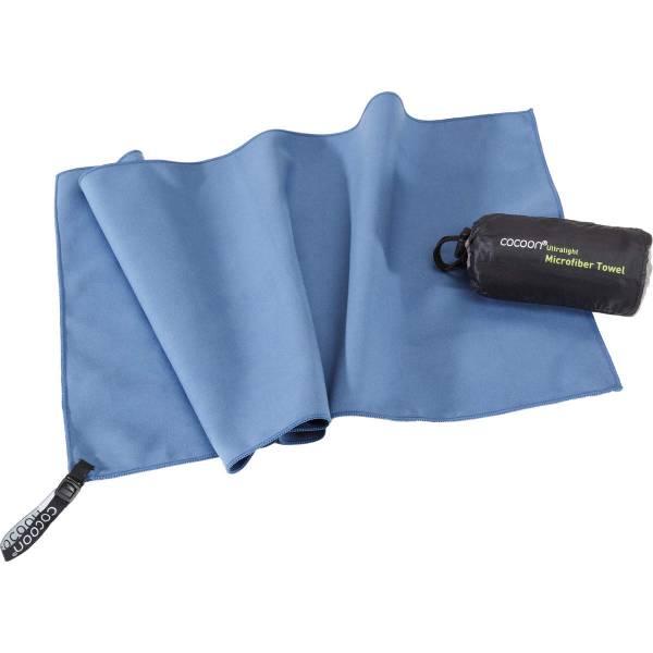 COCOON Towel Ultralight Gr. S - Outdoorhandtuch fjord blue - Bild 1