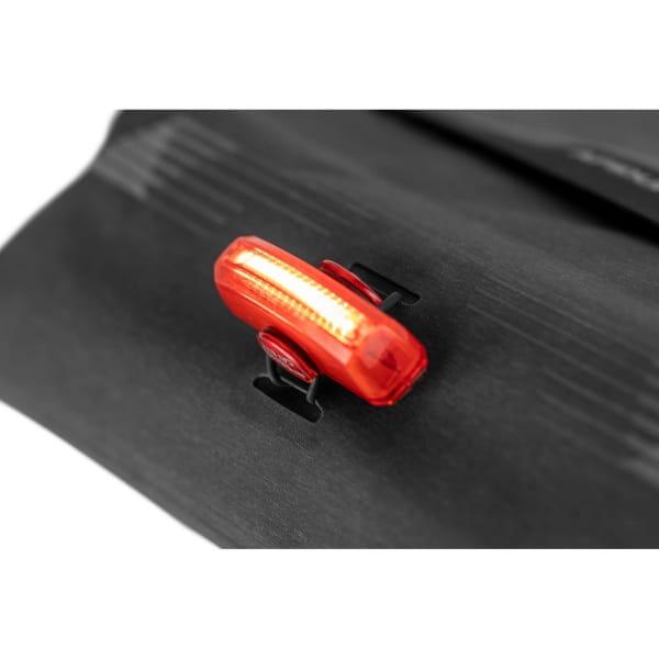 Apidura City Messenger M - 13 Zoll Kuriertasche dark grey melange-black - Bild 10