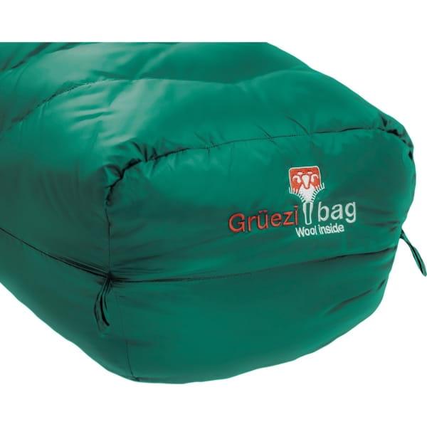 Grüezi Bag Biopod DownWool Subzero - Daunen- & Wollschlafsack pine green - Bild 12