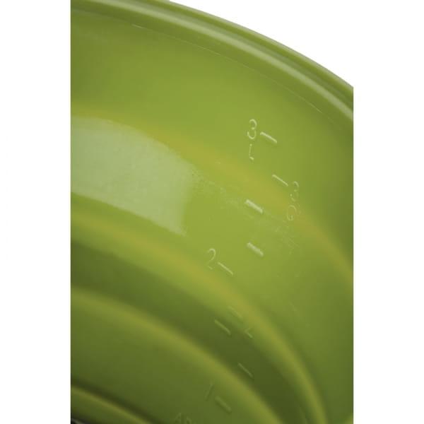 GSI Escape Set - faltbarer Kochtopf und Pfanne green - Bild 12