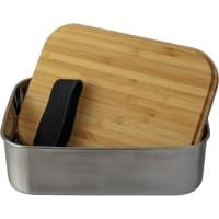 Vorschau: Basic Nature Bamboo Lunchbox 1,2 L - Edelstahl-Proviantdose stainless - Bild 3