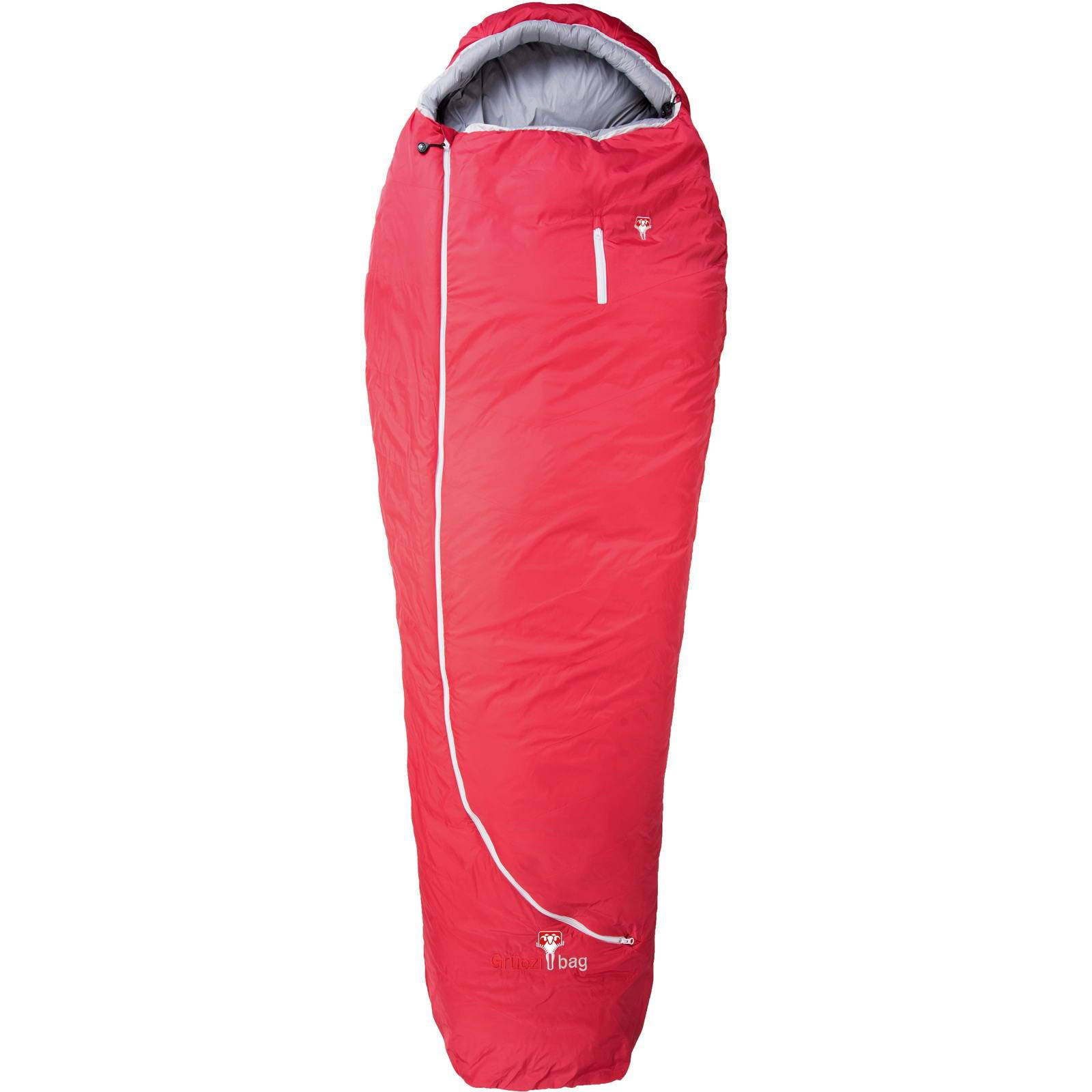 Grüezi Bag Biopod Wolle Zero XL - Wollschlafsack tango red - Bild 1
