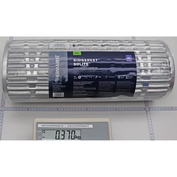 Therm-a-Rest Ridgerest SOLite - Isomatte silver-sage - Bild 4