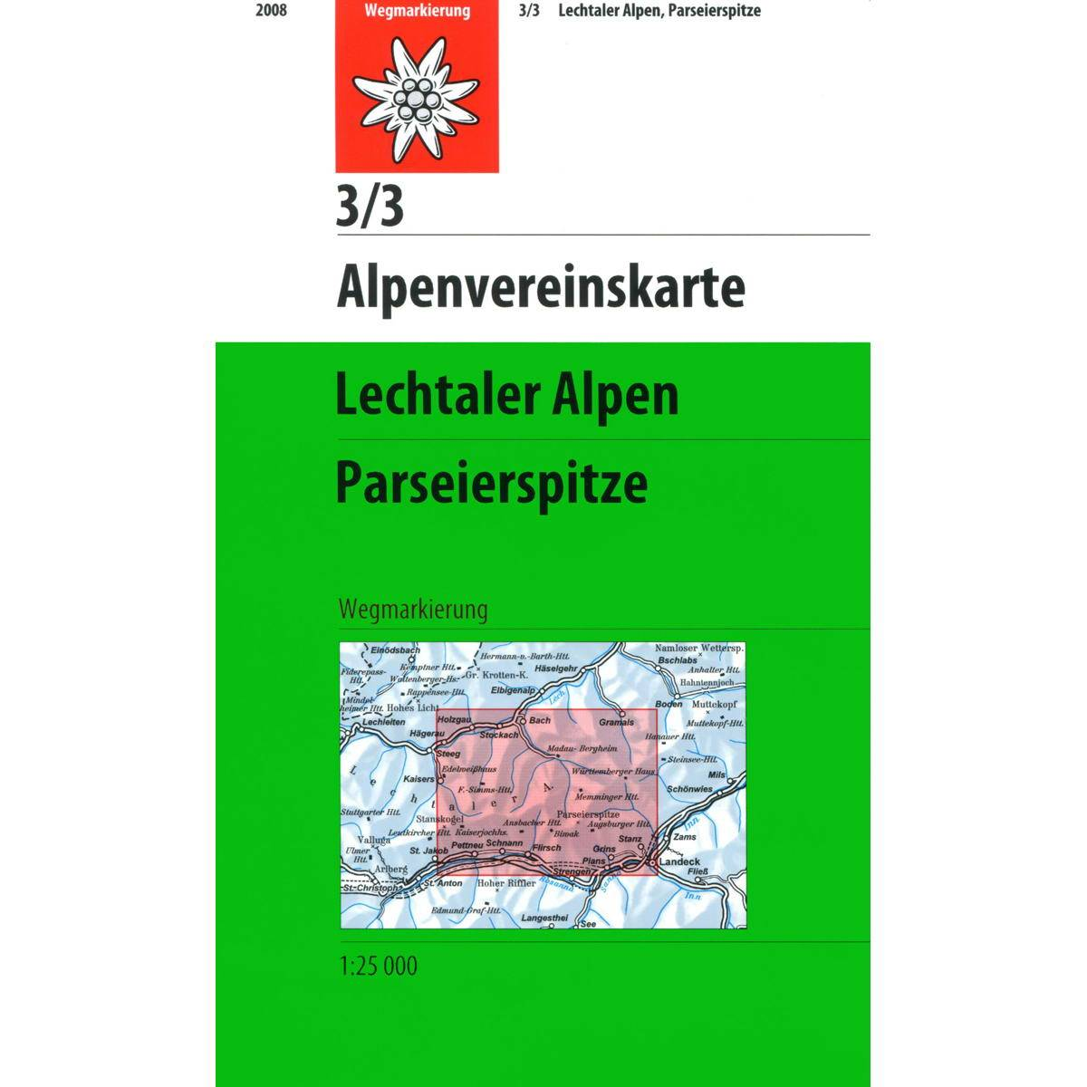 DAV 3/3 Lechtaler Alpen - Parseierspitze - Bild 1