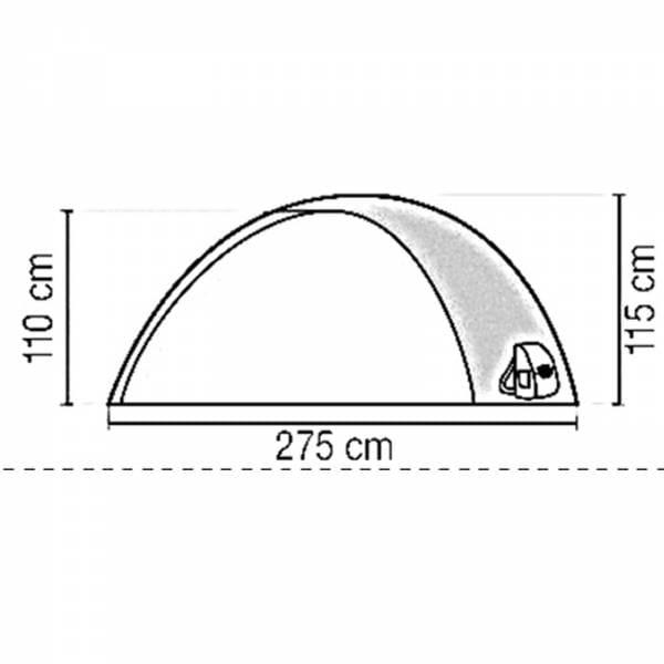 Coleman Darwin 3 Personen - Kuppelzelt - Bild 3