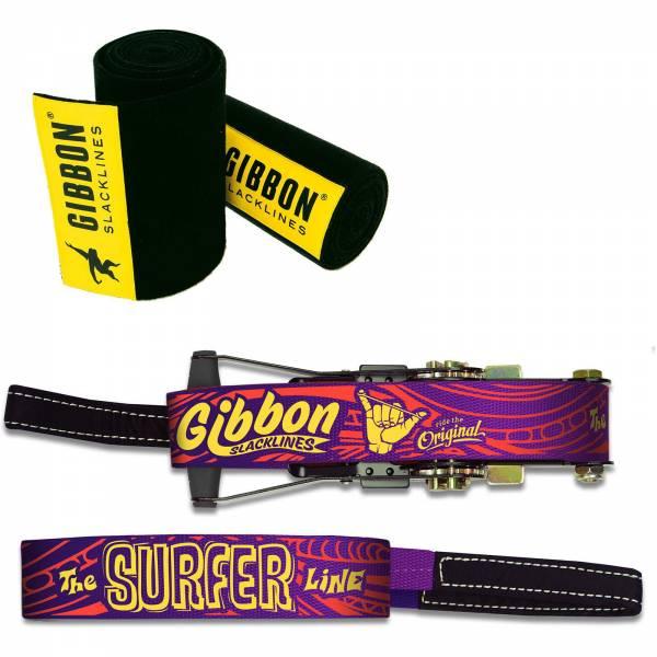 Gibbon Surfer Line - TreeWear Set - Slackline - Bild 3